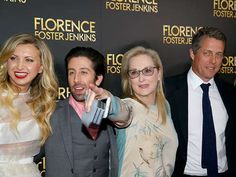 The cast of Florence Foster Jenkins – which includes Meryl Streep, Hugh Grant, Nina Arianda and Simo... - Paul Zimmerman/WireImage