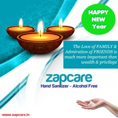 ZAPCARE Alcohol Free Sanitizer