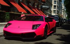 girly lambo pink and blue lamborghinis parked blue cars pink - Sports Cars Lamborghini Pink