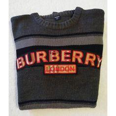 Men's Vintage Burberry of London Sweater