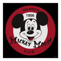 This Mickey Mouse Club t-shirt celebrates the decades old Disney TV show. This Mickey Mouse Club tee offers a vintage Disney MMC design. Original Mickey Mouse Club, Classic Mickey Mouse, Vintage Mickey, Club Poster, Shirt Print Design, Thing 1, Custom Mouse Pads, Mickey And Friends, Round Stickers