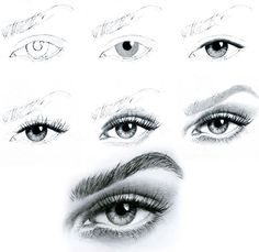 ART :: Eye Illustration Tutorial - by Unknown Artist