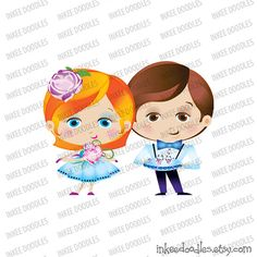 Ring Bearer Flowergirl Page Boy Cute Wedding Party Blue Attire Cartoon Illustration Design Elements Clip Art 30063, by Inkee Doodles, $6.00 USD for set of 20 design pieces, #Ring #Bearer #Flowergirl #PageBoy #Cutewedding #WeddingParty #Blue #weddingAttire #weddingCartoon #pageboyIllustration #weddingDesign #weddingElements #ClipArt
