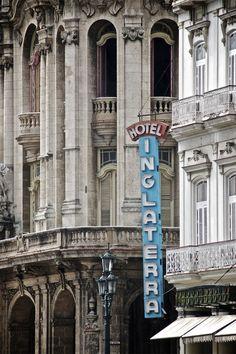 Hotel Inglaterra, La Habana, Cuba.