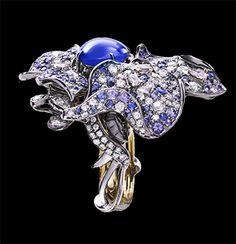 """ANN LIN Haute Joaillerie --  """"The Ring""""-Valkyrie Flower Ring"""