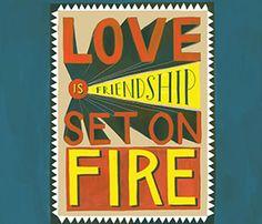 Set On Fire Print