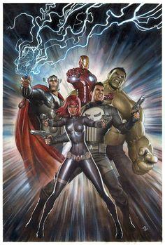 Avengers by Adi Granov *