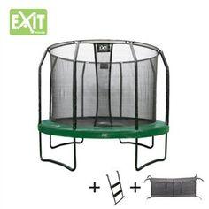 EXIT JumpArena All-in-1 trampoline 366cm + ladder + net