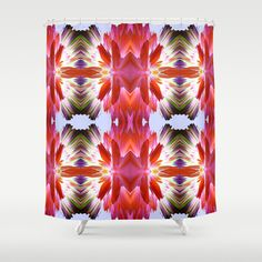 FLOWERS BOMB Shower Curtain