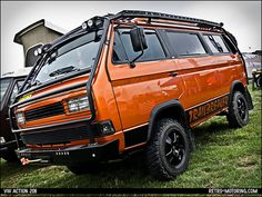 VW T3 Syncro by retromotoring, via Flickr