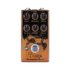 EarthQuaker Devices Talons High Gain Overdrive Guitar Effects Pedal