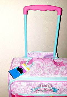 Disney luggage tag_princess