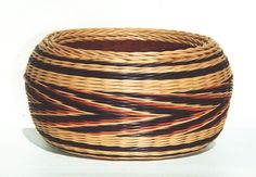 Southwest Spirit. Large, double wall, 4 rod wale. Round reed. By Molly Gardner.