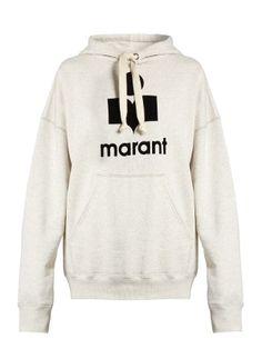 Mansel Marant-print hooded sweatshirt  | Isabel Marant Étoile | MATCHESFASHION.COM