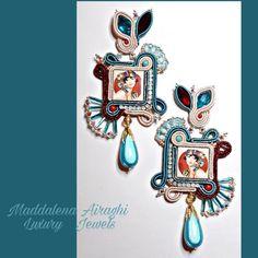 Enamel, Jewels, Handmade, Accessories, Glaze, Vitreous Enamel, Jewelery, Hand Made, Enamels