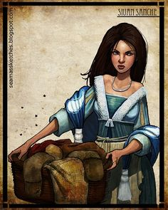 Siuan Sanche - Aes Sedai - The Amyrlin Seat - The White Tower  *Love Siuan's dress here*