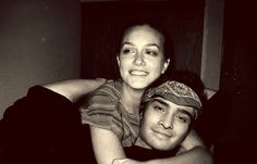So cheesy of me, but I'm kind of in love with this picture of them. #LeightonMeester #EdWestwick