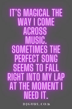 Music quote Dj Quotes, Music Quotes, Dj Music, I Got This, In This Moment, Songs, Song Books
