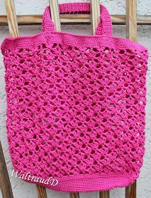 Another shopping network is ready. Since for me plastic bags are out of the question … – Knitting – Crochet Crochet Slippers, Knit Crochet, Crochet Tote, Knitting Patterns, Crochet Patterns, Knitting Tutorials, Purse Patterns, Mochila Crochet, Diy Bags Purses