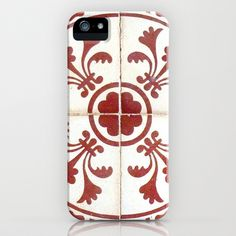 Ancient French tile. iPhone & iPod Case