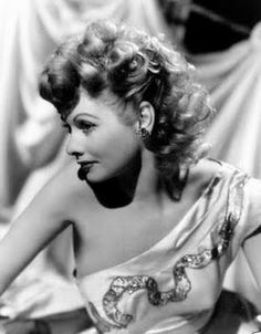 Lucille Ball mid 1940s