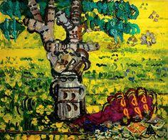 Ion Țuculescu – pictorul diletant, o personalitate complexă a culturii române Abstract Oil, Abstract Expressionism, Oil Painters, Post Impressionism, Art World, Art Blog, Folk Art, Bucharest Romania, Painting