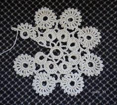 Crochet Chart, Crochet Motif, Crochet Doilies, Crochet Lace, Crochet Angel Pattern, Knitting Patterns, Crochet Patterns, Crochet Tablecloth, Irish Lace