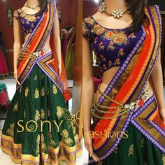 Pattu Half Saree by Sony Reddy