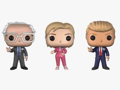With figurines for Someone With Tiny Hands, Hillary Clinton, and Bernie Sanders, the makers of Pop! vinyl collectibles are cashing in on the campaign trail.
