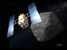 """Japanese hayabusa 2 space mission المستكشف الفضائي الياباني الجديد هايابوسا 2 Japan aerospace exploration agency showed the media its new asteroid explorer """"Hayabusa 2"""" ,it has a new amazing technology , more in the video . قامت وكالة الابحاث الفضائية اليابانية بعرض مشروعها الجديد المسمى """"هايابوسا 2"""" وهو مستكشف للاجرام الفضائية , يحوي العديد من التكنولوجيا الجديدة و المبهرة , المزيد في الفيديو"""