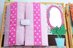 Handmade by mom: Очередная готовая развивающая книжечка, на это раз для девочки Катюши!!! Dolls House Figures, Felt Quiet Books, Busy Book, Book Activities, Book Quotes, Quilts, Creative, Blog, Projects