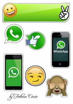 WhatsApp: Toppers para Tartas, Tortas, Pasteles, Bizcochos o Cakes para Imprimir Gratis.