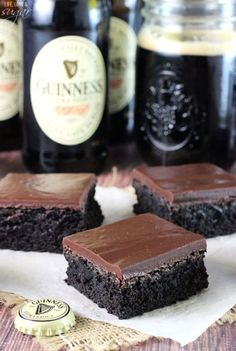 These Guinness-infused brownies are moist, sweet, and totally irresistible.