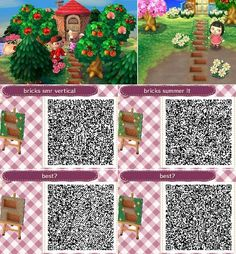 • These are patterns I've made, mostly with my own town(s) in mind, but you're free to use them as well if you like! Giving credit is appreciated, especially when it comes to re-posting…