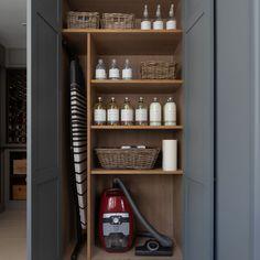 Laundry Cupboard, Utility Cupboard, Cupboard Storage, Kitchen Cupboards, Cupboard Ideas, Living Room Cupboards, Airing Cupboard, Larder Cupboard, Pantry Ideas