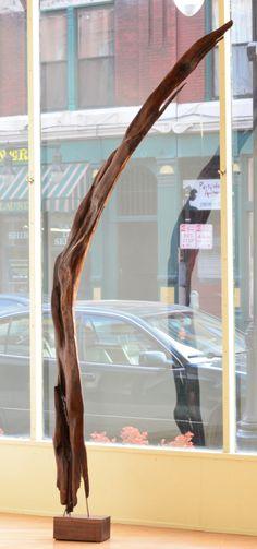 """Matt Metzger; walnut; 114""""x36""""x13""""; www.metzgerfinearts.com"""