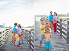 family of 5 photo shoot / beach photography / orange beach, alabma photographer