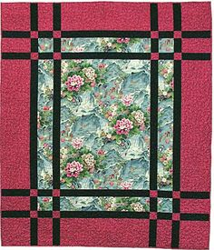 A Best Ing Quilt Pattern The Prairie Window Is Perfect For Large Fls Or Elegant Orientals Find This Pin And More On Craftsman Style