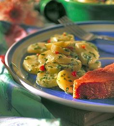 scalloped potatoes and spinach