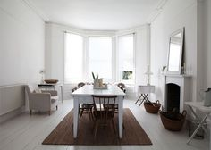 Pastel interior of London Victorian terrace Ercol Furniture, Pastel Interior, London House, Sweet Home Alabama, White Rooms, Large Bedroom, Reception Rooms, Beautiful Interiors, Home Fashion