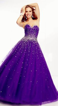 nolajudy:   Ball Gown Sleeveless Tulle Sweetheart Prom Dress... #dress #cute #fashion #modern #design #dresses #gown #prom #longdress #shortdress #cute #dresses #wedding #party #girl #women