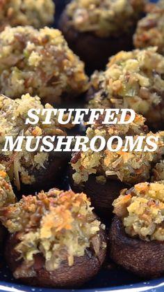 Camp Recipe: Stuffed Mushrooms