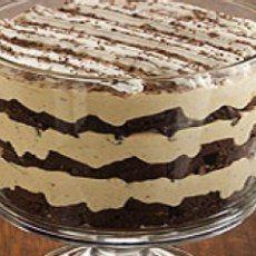 Tiramisu Brownie Trifle www.pamperedchef.biz/aprilscookingshow