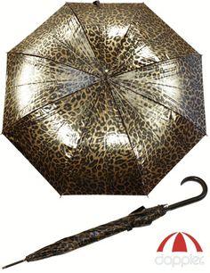 Regenschirm Langschirm Schirm AC Leo glanz gold | eBay 24,95