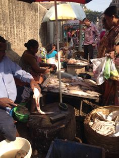 Fish Market in Dombivli