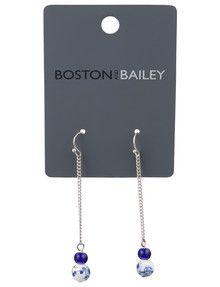 Boston & Bailey Porcelain Ball Earrings product photo
