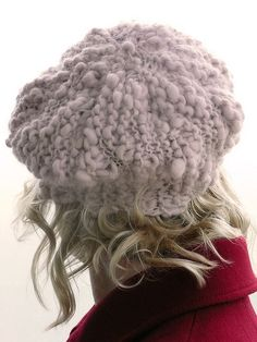 This is a great hat to knit out of handspun thick & thin yarn. Find some you like with ~ 100 yards and you can make this work by adjusting your tension.  Super fun! #Ysolda