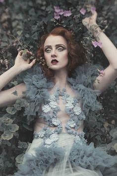 ❀ Flower Maiden Fantasy ❀ women & flowers in art fashion photography - lost…