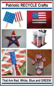 Planetpals Fave Patriotic Recycle Crafts That Are Red White Blue and GREEN! #moms