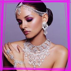 Indian Bridal Jewelry – OMG !!!  Gorgeous !!!!!!